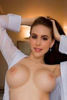Katie Banks Sheer White Pleasure
